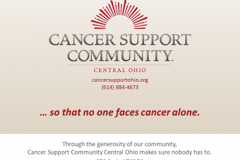 Cancer Support Community Central Ohio: So that No One Faces Cancer Alone