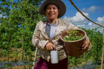 How this farmer is rebuilding after she lost everything